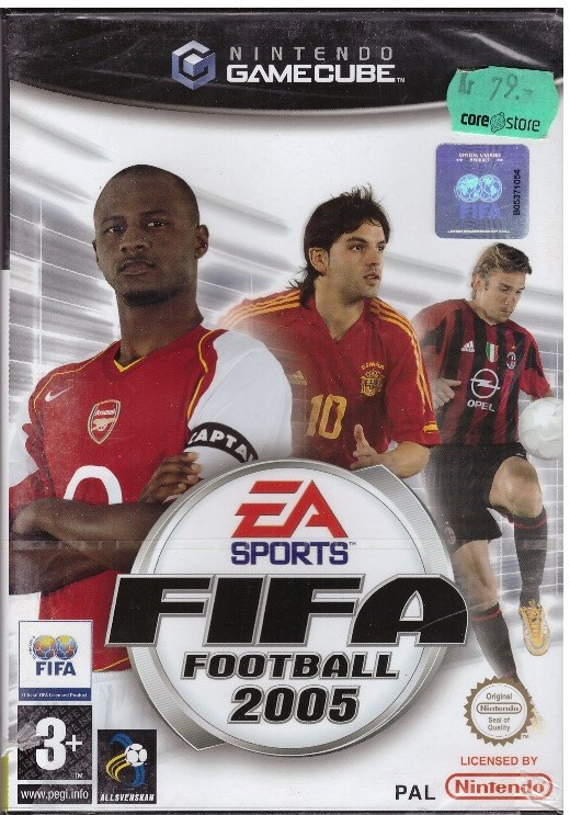 FIFA FOOTBALL 2005 (GAMECUBE)